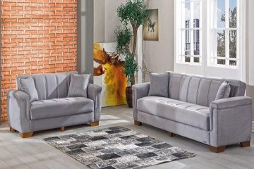 מערכת ישיבה מעוצבת, הסלון נראה אחרת